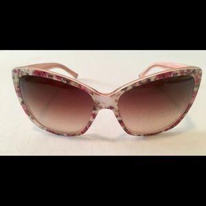Dolce & Gabbana Sunglasses Pink Flower Shades